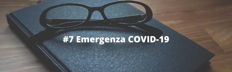 Aggiornamento situazione emergenziale da COVID-19 13 marzo 2020